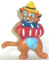 The Aristocats - Heimo PVC figure -  Italian Cat