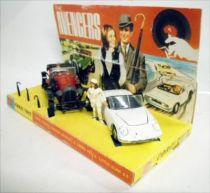 The Avengers - Corgi Gift Set n°40 - John Steed\'s Vintage Bentley & Emma Peel\'s Lotus Elan S2