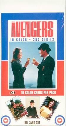 The Avengers - Trading Cards Series 1, 2 & 3