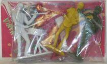 The Beatles - Emirober - Set of 4 figures Mint in Paul Mc Cartney Baggie