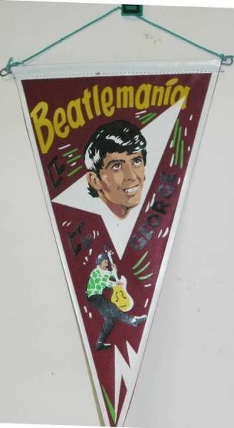 The Beatles - Pennant - George Harisson