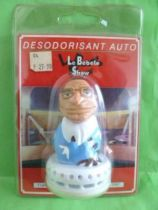 The Bébête Show - Black Jack (Jacques Chirac) - Car Air freshener