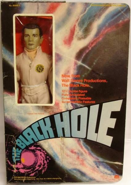 The Black Hole - Mego - 12\'\' Cpt. Dan Holland