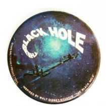 The Black Hole - Vintage Button - 1979