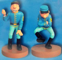 The Blue Boys  Resin Figures - Blutch & Chesterfield (Dupuis 2009)