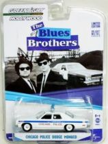 The Blues Brothers - Chicago Police Dodge Monaco (Die-cast 1:64ème) Greenlight Hollywood