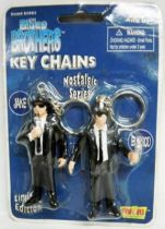 The Blues Brothers - Elwood & Jake - Figurines Porte-clés Fun 4 All