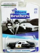 The Blues Brothers - Jake & Elwood\'s Bluesmobile (1:64 Die-cast) Greenlight Hollywood