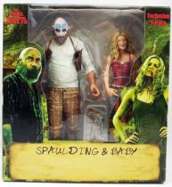 The Devil\'s Rejects - Spaulding & Baby - Figurines Exclusives SDCC  NECA