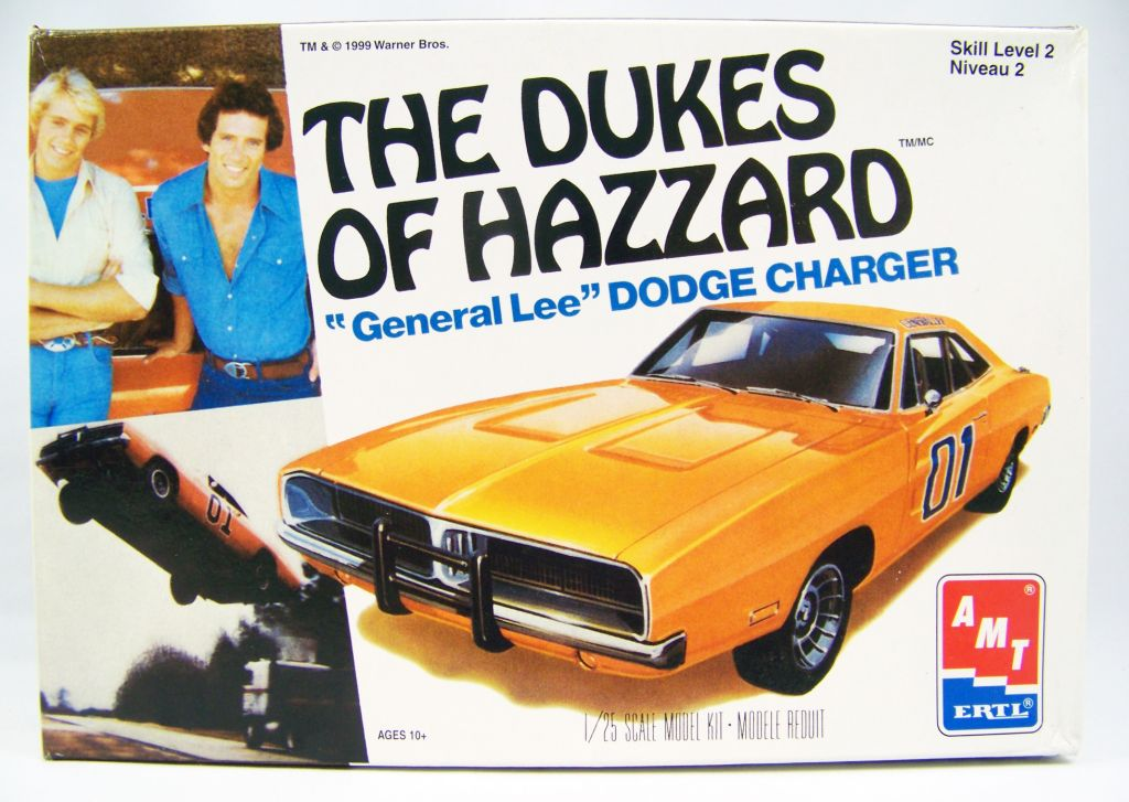 The Dukes Of Hazzard Amt Ertl 1969 Dodge Charger