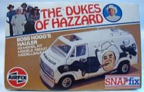 The Dukes of Hazzard - Boss Hogg\\\'s  Hauler 1/32 Model Kit