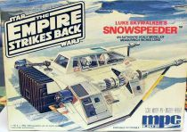 The Empire strikes back - MCP ERTL - Luke Skywalker\'s Snowspeeder