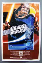 """The Empire Strikes Back - Movie Poster One Sheet 27\""""x41\"""" (10th Anniversary Poster) 1990"""
