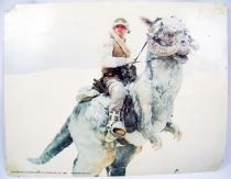 The Empire Strikes Back (1980) - Lobby Card (grande taille) - Luke et son Tauntaun sur Hoth 01