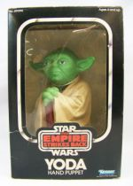 The Empire Strikes Back 1980 - Kenner - Yoda Hand Puppet (mint in box)