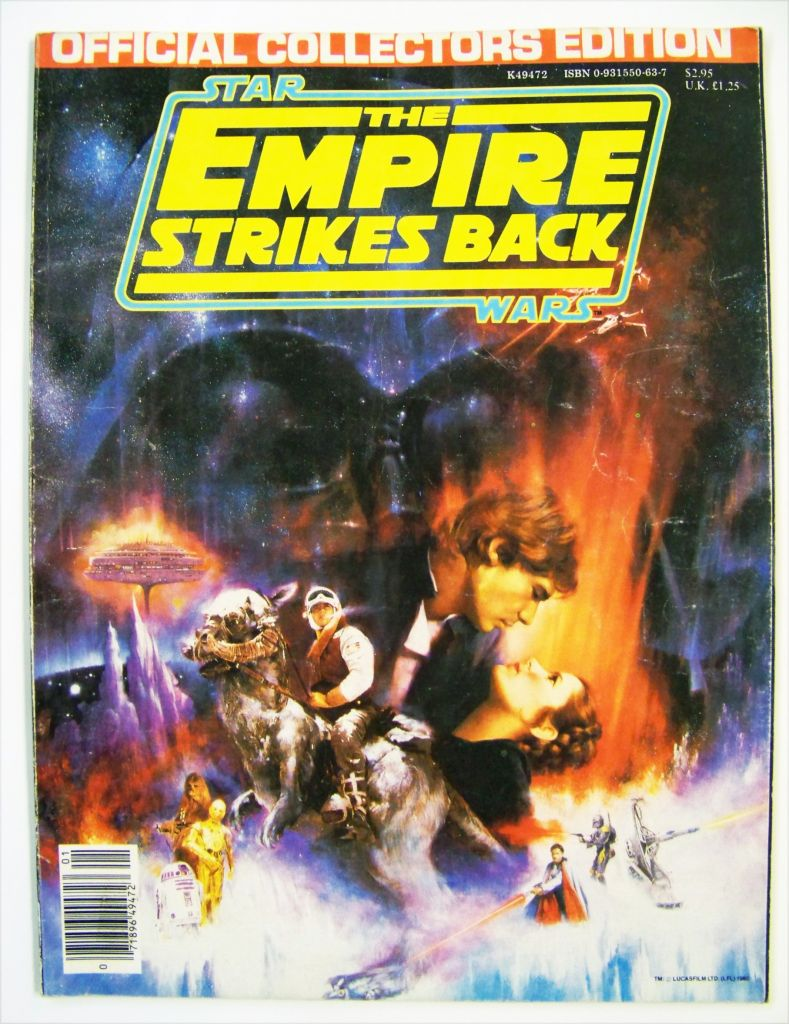 The Empire Strikes Back 1980 - Paradise Press Inc (Official Collector Edition) 01