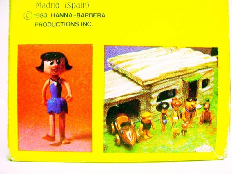 The Flintstones - D-Toys - Betty - Action Figure 1983