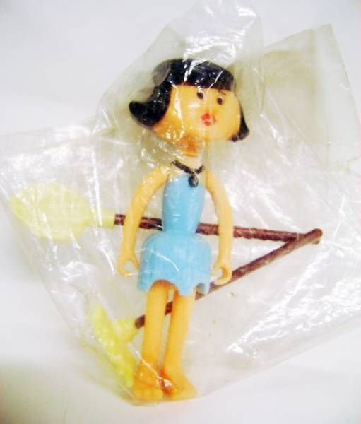 The Flintstones - D-Toys - Betty - Action Figure 1983