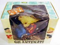 The Flintstones - FAB / Mercury - Fred & Barney - Mini-Flexy & Diecast Vehicle 1971