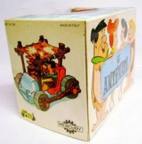 The Flintstones - FAB / Mercury - Fred & Barney - Mini-Flexy & Diecast Vehicle 1971