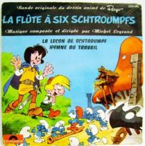 The Flute with six smurfs Original Motion Picture Soundtrack - Mini-LP Record - Polydor 1975