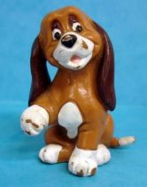 The Fox and the Hound - Bully pvc figure - Copper the dog
