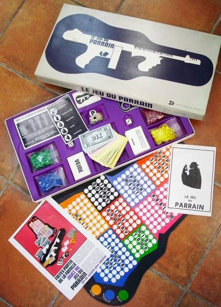 The Godfather - Board Game - Jouets Educatifs Universels