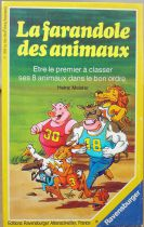 The Great Animal Race - Card Game - Ravensburger 1989