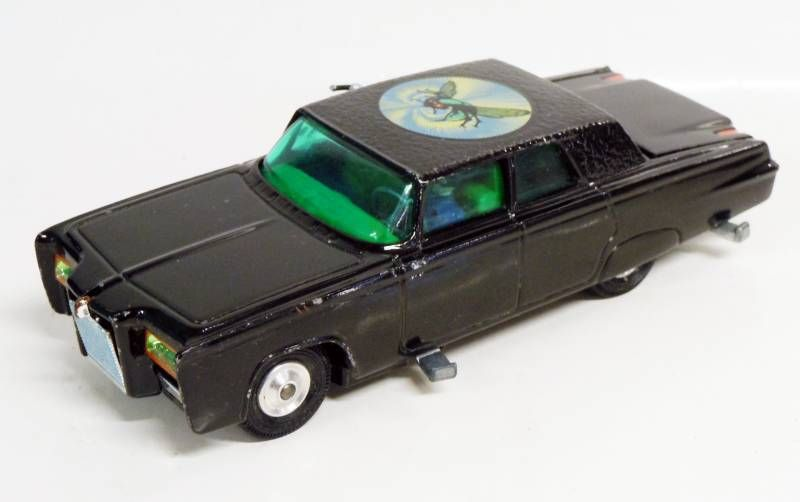 The Green Hornet - Corgi 1966 1:36 scale - Black Beauty  (Loose Complete)