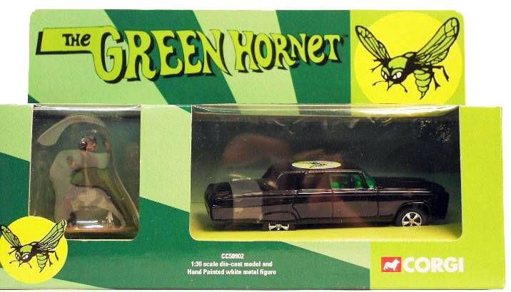 The Green Hornet - Corgi 2001 1:36 scale - Black Beauty
