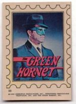 The Green Hornet bubble gum sticker N° 33