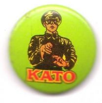The Green Hornet loose Kato grreen button
