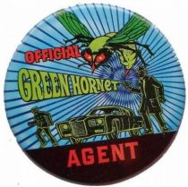 The Green Hornet vintage loose official large button