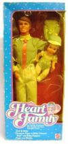 The Heart Family - Dad & Baby - Mattel 1984 (ref.9079)