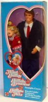 The Heart Family Kiss & Cuddle Dad & Baby Girl - Mattel 1986 (ref.3141)