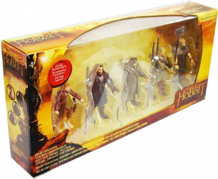 The Hobbit : An Unexpected Journey - Collector pack : Bilbo, Thorin, Kili, Fili, Dwalin