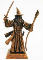 The Hobbit : An Unexpected Journey - Mini Figure - Gandalf the Grey in battle (bronze)