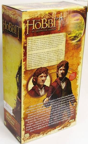 The Hobbit - Bilbo Baggins 1/4 Scale Action Figure - NECA
