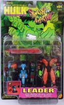 The Incredible Hulk Smasn and Crash - Leader