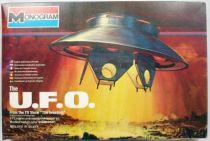 The Invaders - The U.F.O. 1:72 scale model kit - Monogram