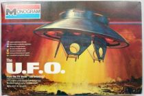 The Invaders - The U.F.O. 1:72 scale model kit - Monogram