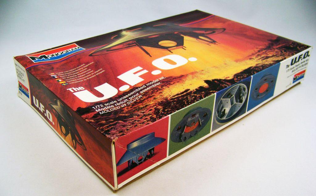 Les Envahisseurs - Modèle réduit OVNI (U.F.O.) 1-72ème - Monogram 02