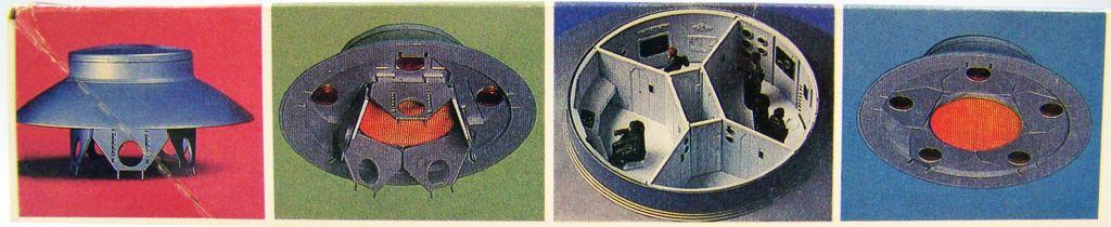 Les Envahisseurs - Modèle réduit OVNI (U.F.O.) 1-72ème - Monogram 05