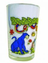 The Jungle Book - Amora Mustard Glass - Bagheera, Kaa, Baloo, Mowgli & Junior