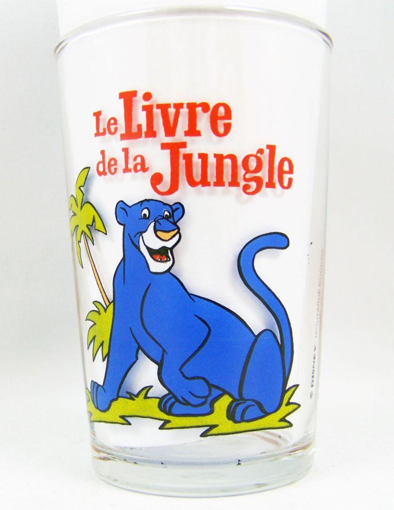 The Jungle Book Ducros Mustard Glass Bagheera Mowgli Kaa