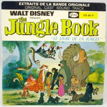 The Jungle Book - Record 45s - Buena Vista Record 1968