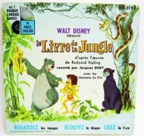 The Jungle Book - Record-Book 45s - Disneyland Record 1967