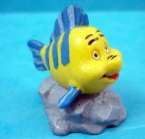 The Little Mermaid - Bully pvc figure 1990 - Flounder