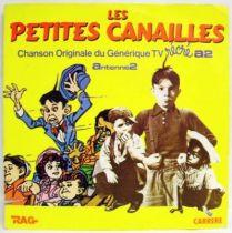 The Little Rascals Original French TV series Soundtrack - Mini-LP Record - Carrere 1984