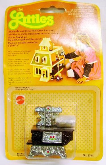 The Littles - Mattel - Diecast Furnitures: Cooker Ref.1794